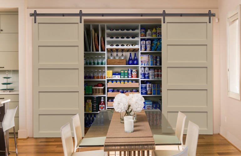 Pantry Sliding Barn Doors In Austin, TX