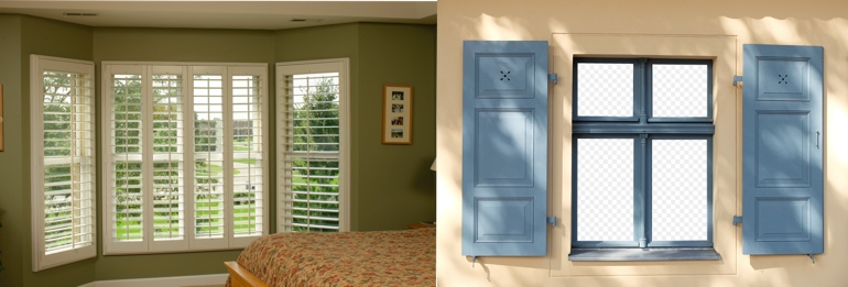 Austin Texas exterior and interior shutters