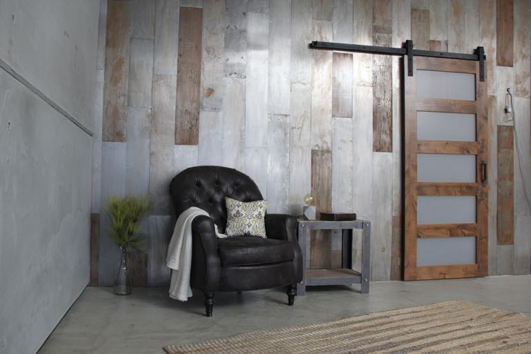 Austin commercial barn door