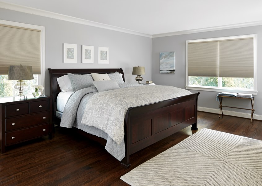 Austin blackout shades bedroom