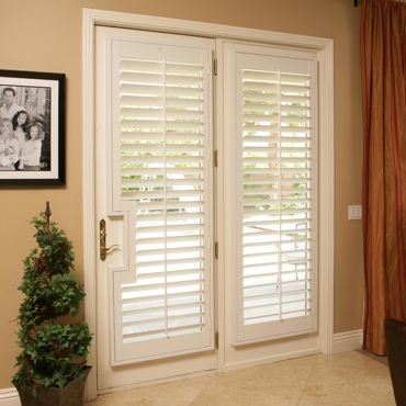 Patio French Door Shutters Austin. French Door Shutters