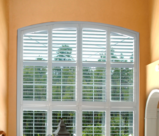 Arched Window Shutters In Austin, TX