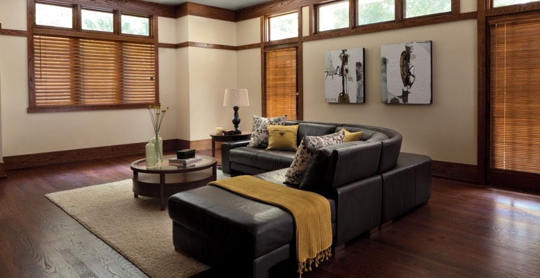 Austin hardwood floor and blinds