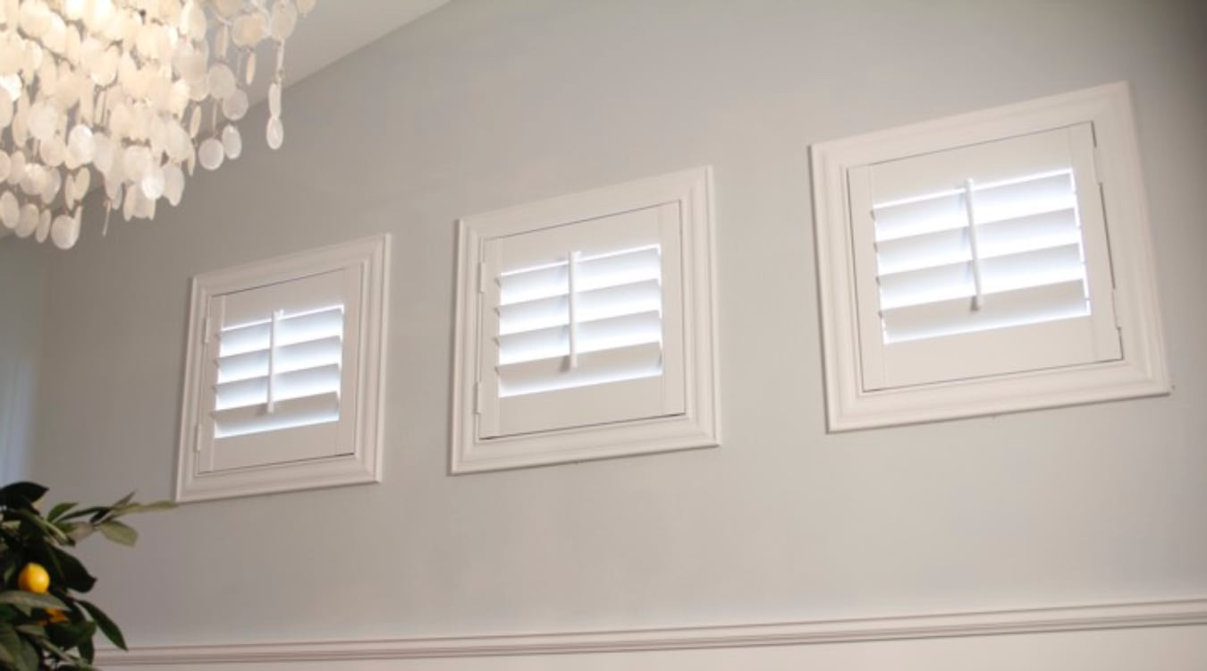 Austin small window shutters