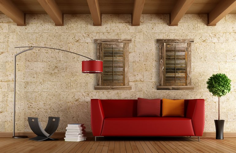 Hottest Trends In Window Treatments In Austin: Reclaimed Wood Shutters
