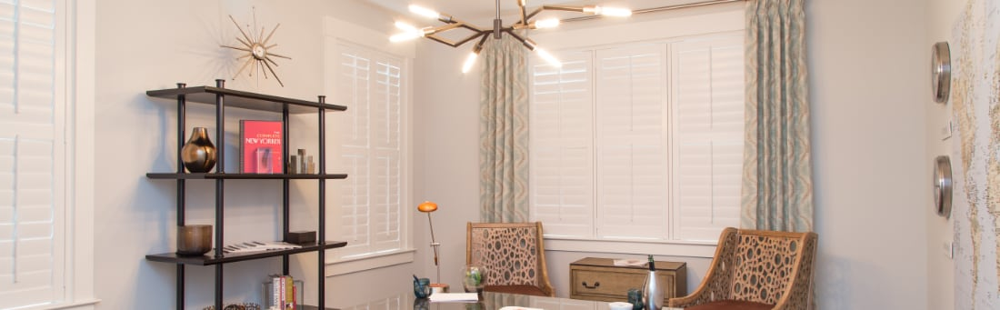 Home Office Window Treatments